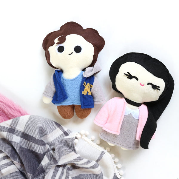 To All the Boys I've Loved Before Chibi Plushies