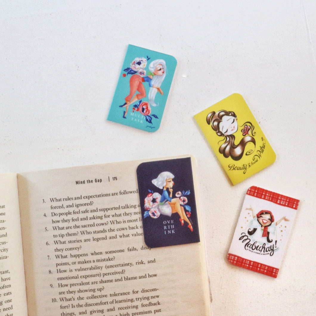 Magnetic Bookmark by Jodiyosa