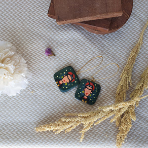 Hand-painted Earrings by Plural and Co - Common Room PH