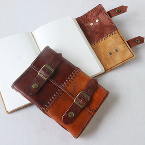 Patchwork Leather Cover Journal - Common Room PH