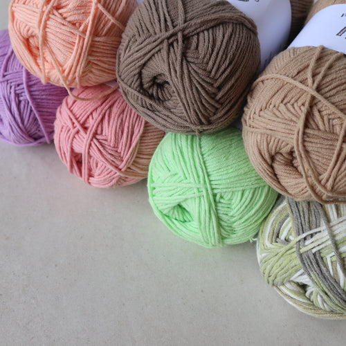 Milk Cotton Blend Yarn - Common Room PH