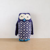 Knitted Owl Doll