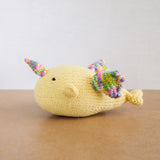 Knitted Narwhal Doll - Common Room PH