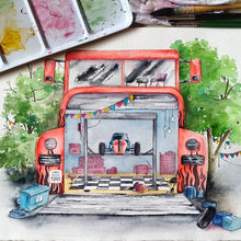 Load image into Gallery viewer, Custom Treehouse, House, or Shop Watercolor by Peregrina - Common Room PH