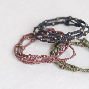 Braided String Bracelet