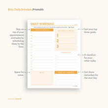Load image into Gallery viewer, Brio: Daily Planner Printables - Common Room PH