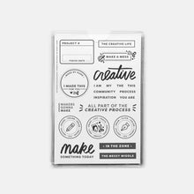 Load image into Gallery viewer, Everyday Explorers Clear Stamps - Common Room PH