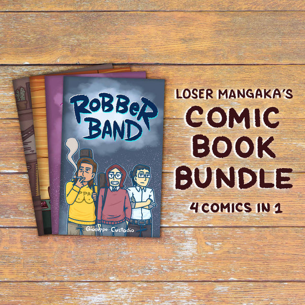 Comic Book Bundle by Loser Mangaka - Common Room PH