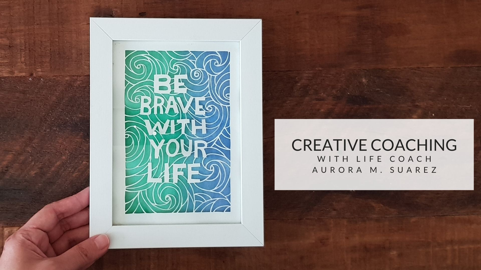Creative Coaching: One-Hour Coaching Session with Aurora Suarez - Common Room PH