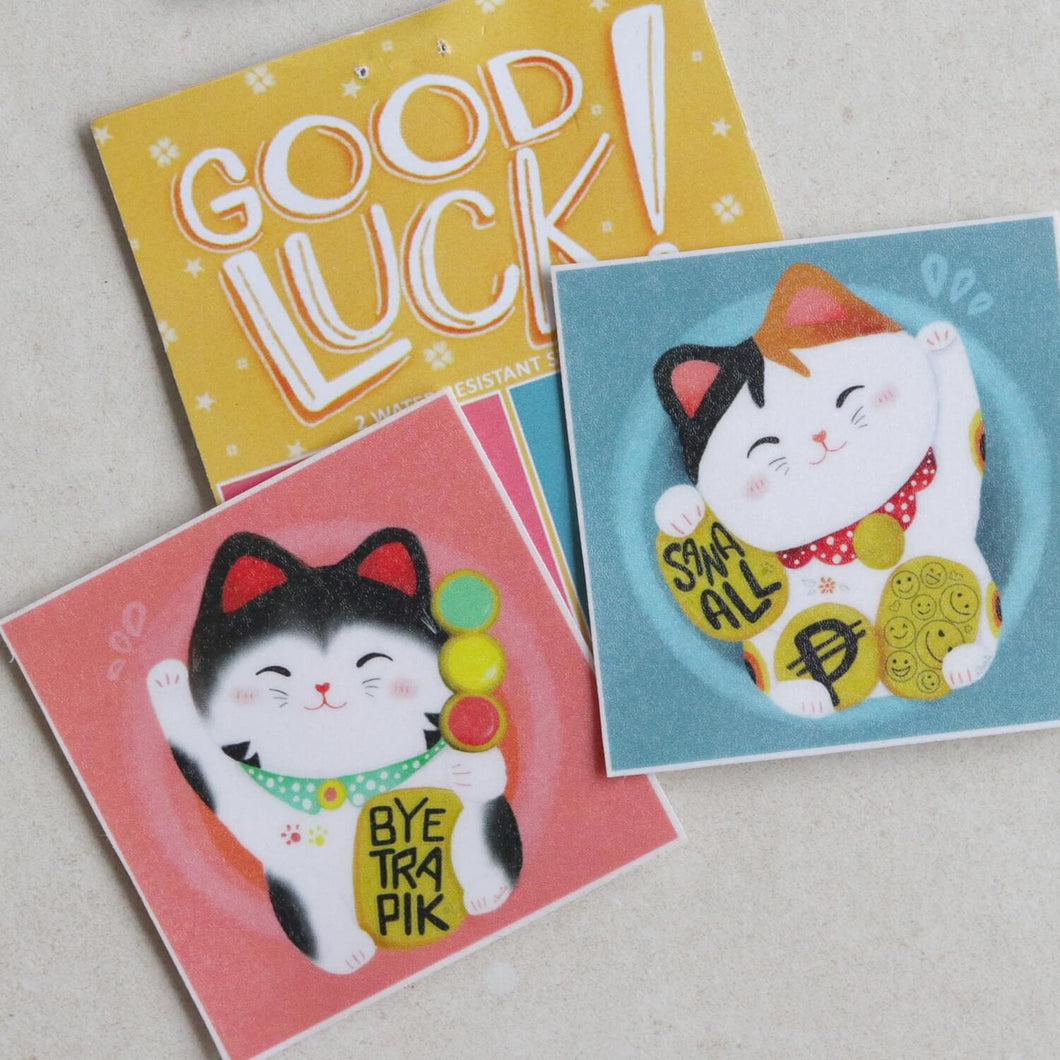 Good Luck Stickers by Dear Darie