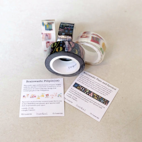 Washi Tape by Hue & Ai - Common Room PH