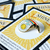 Shine Enamel Pin - Common Room PH