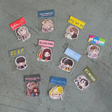 K-pop & K-drama Sticker Packs