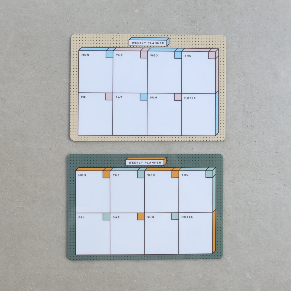 Weekly Planner Magnet Board - Common Room PH