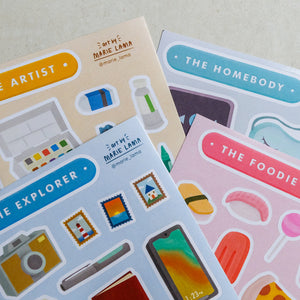 Sticker Sheets by Marie Lama - Common Room PH