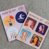 Mini Sticker Sheets by Marie Lama - Common Room PH