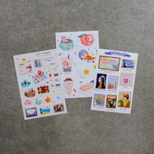 Load image into Gallery viewer, Louise Ramos Peel-Off Journal Stickers - Common Room PH