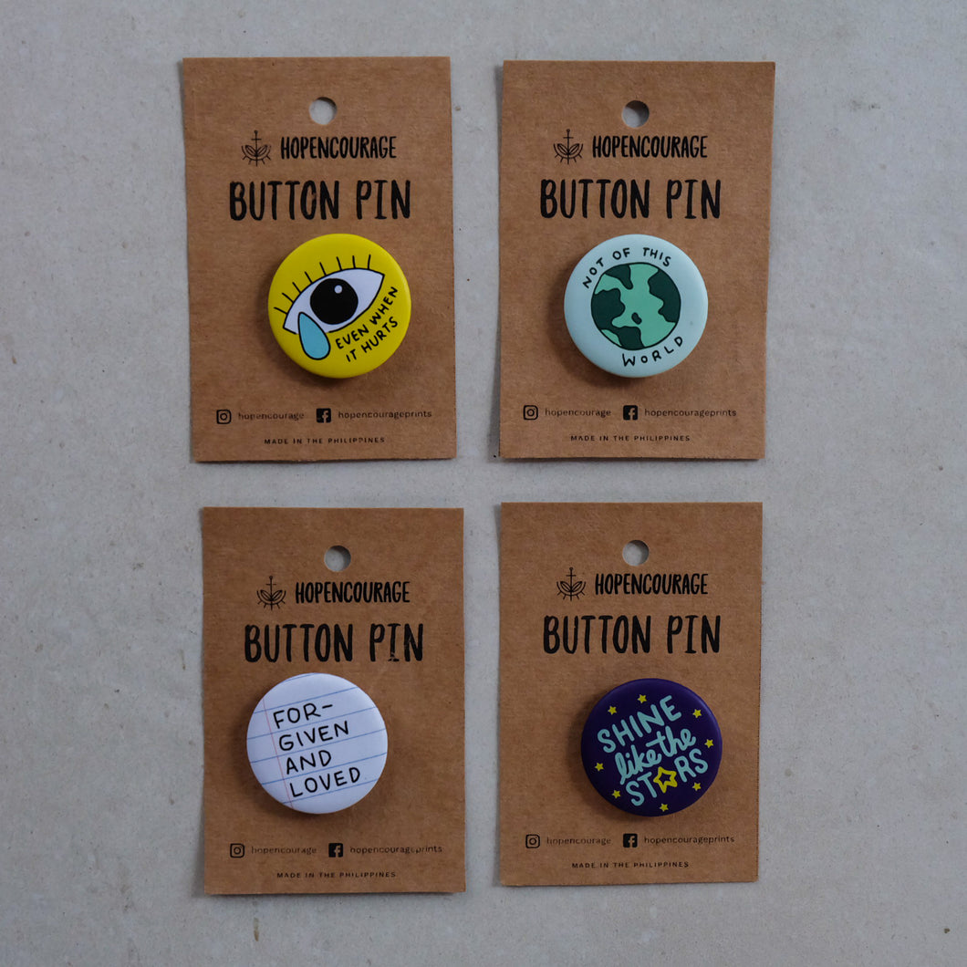 Button Pins by Hopencourage - Common Room PH
