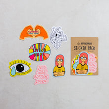 Load image into Gallery viewer, Sticker Packs by Hopencourage - Common Room PH