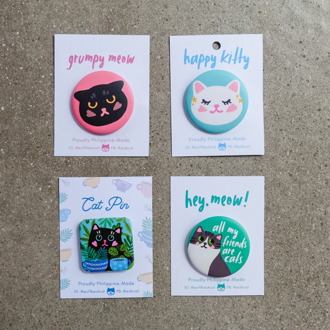 Cat Pins - Common Room PH