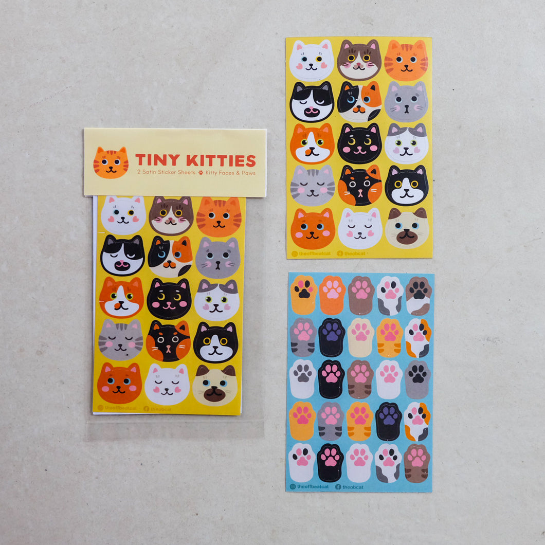 Tiny Kitties Journaling Stickers - Common Room PH