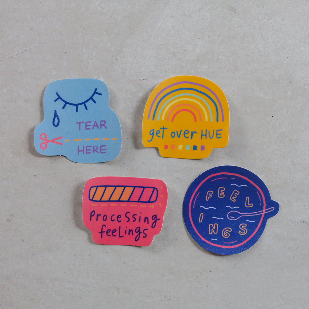 Artsyology Sticker Sets - Common Room PH