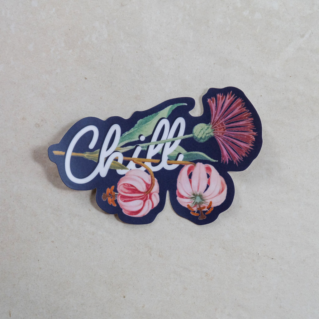 Chill Laminated Sticker - Common Room PH