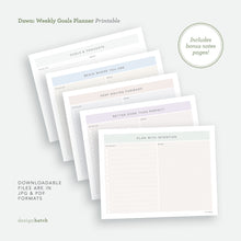 Load image into Gallery viewer, Dawn: Goals Planner Printables - Common Room PH