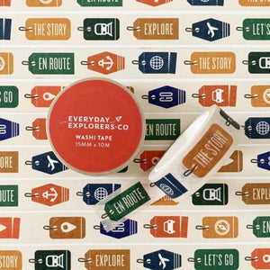 Everyday Explorers Washi Tapes - Common Room PH