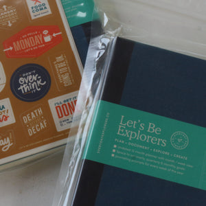 Let's Be Explorers Undated Planner - Common Room PH