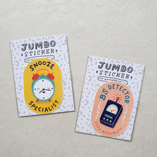 Load image into Gallery viewer, Jumbo Waterproof Stickers by Ella Lama - Common Room PH