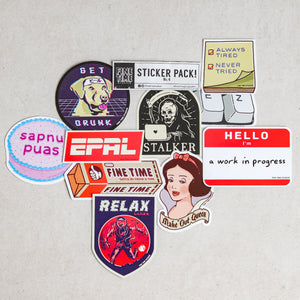 Fine Time Studios Sticker Packs