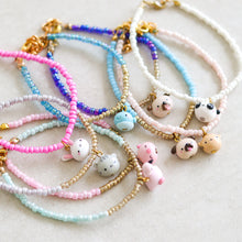 Load image into Gallery viewer, Single Bead Animal Bracelet