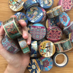 Ink Scribbler Washi Tapes - Common Room PH