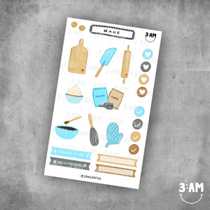 Printable Sticker Sheets by 3AM Crafter - Common Room PH