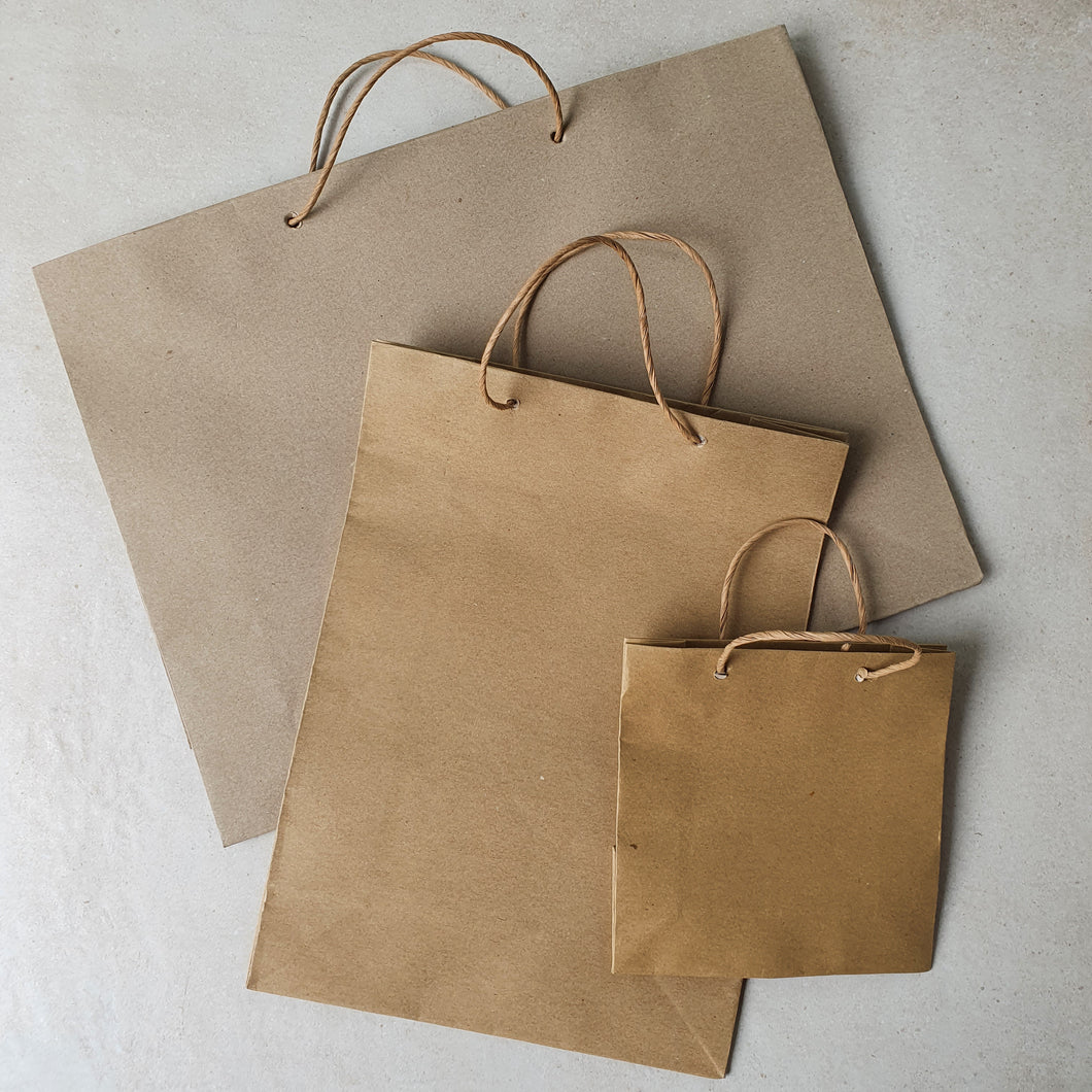 Kraft Gift Paperbag - Common Room PH