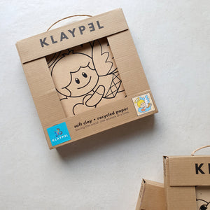 Klaypel Paper Clay Craft Kit - Common Room PH