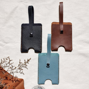 Leather Hand Sanitizer Holder - Common Room PH