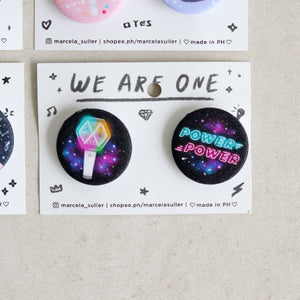 Marcela Suller K-pop Pins