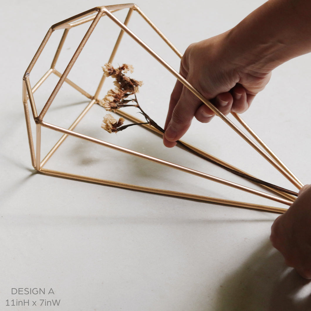 Studio No. 3 Geometric Metal Home Decor - Common Room PH