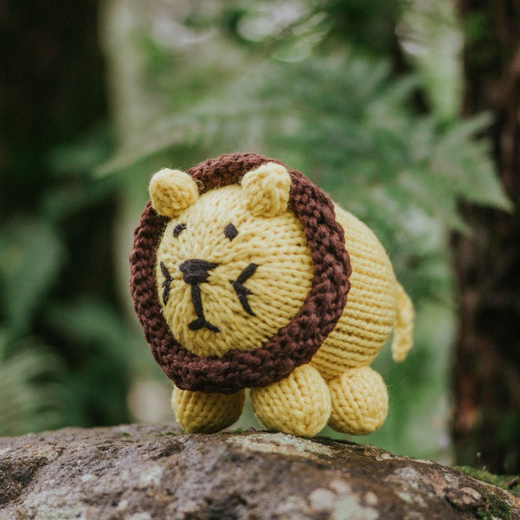 Lion Knitted Plushie - Common Room PH
