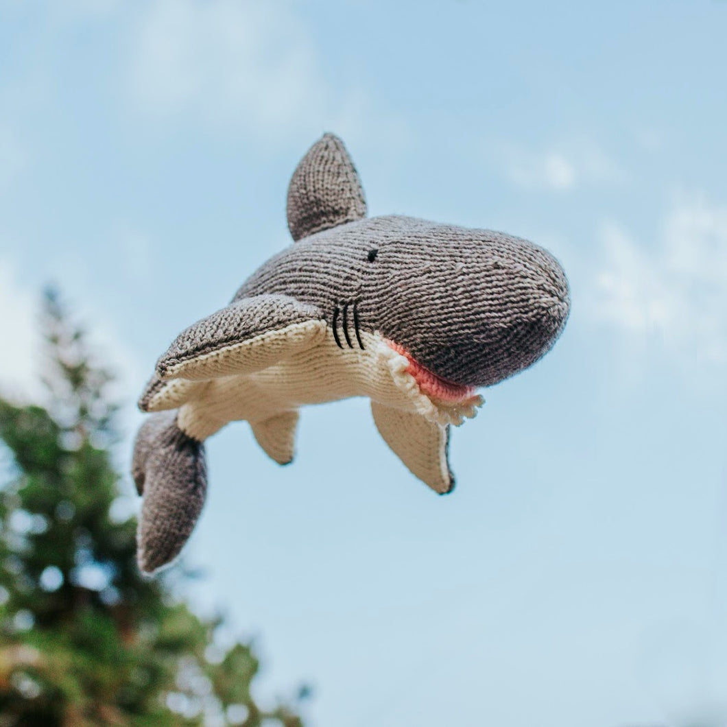 White Shark Knitted Plushie - Common Room PH