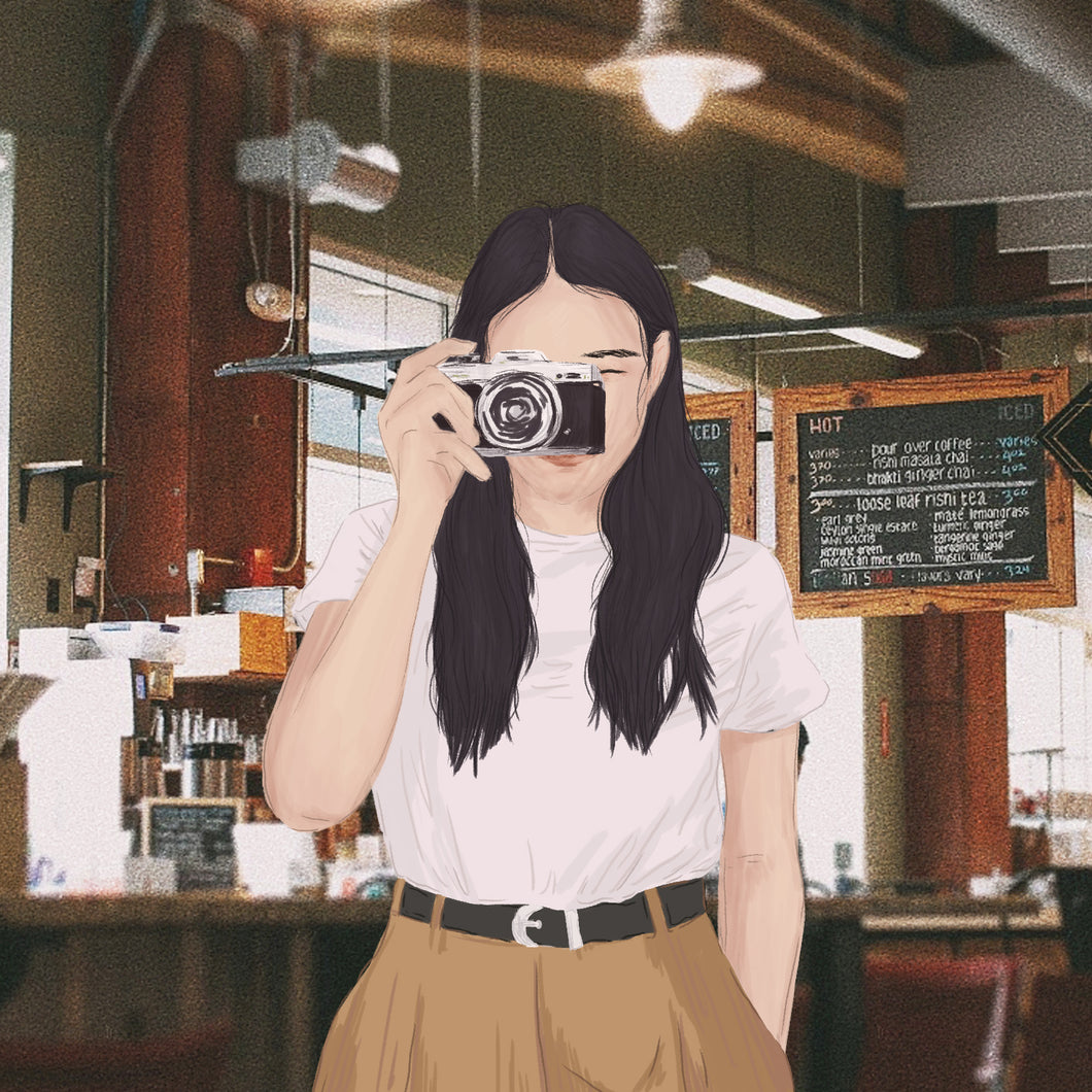 Custom Film Illustration by Louise Ramos - Common Room PH