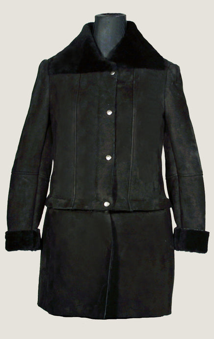 Women's Shearling 2 in 1 Maria Coat