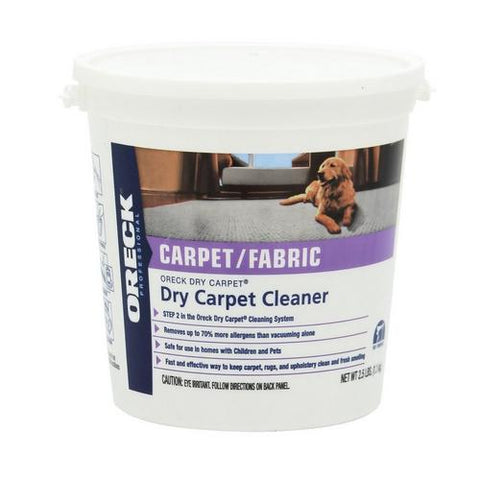 Oreck Dry Carpet Cleaning Powder - 9lbs