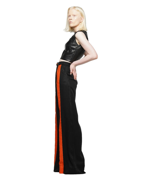 Tencel wide-leg pants - KO by Kolotiy