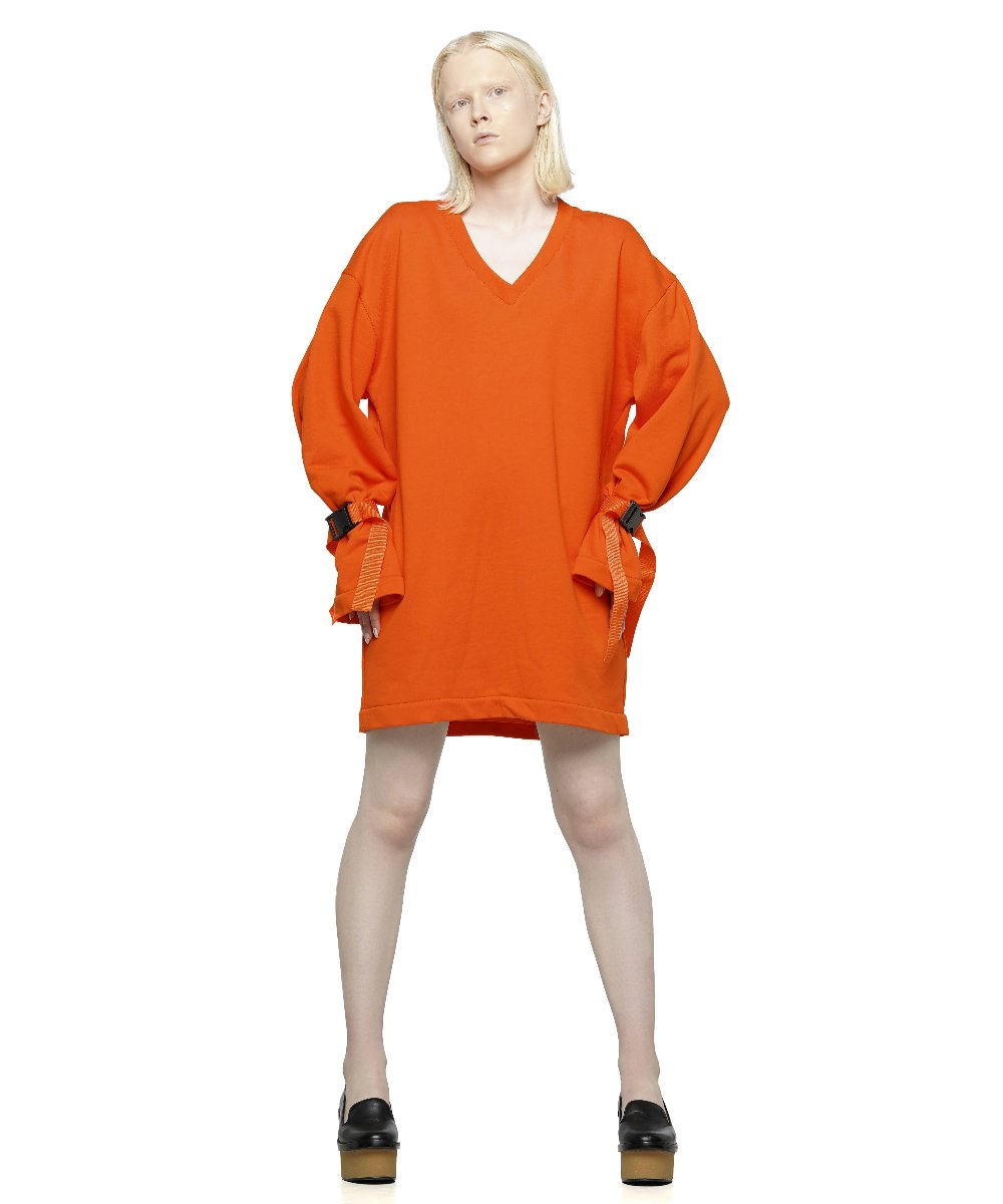 Oversize cotton jersey dress - KO by Kolotiy