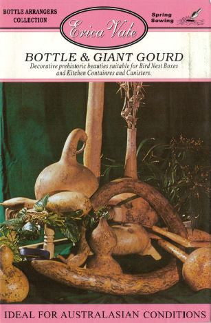 Bottle and Giant Gourd