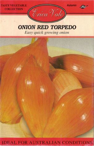 Onion Red Torpedo