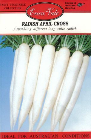 Radish April Cross